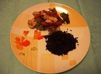 Straccetti di pollo con verdure