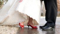 Scarpe colorate per le spose del 2015