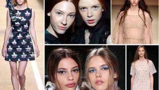 Trend make up primavera/estate 2015: labbra mat e eyeliner
