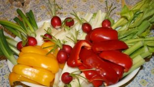 Pinzimonio con Verdure Dolci