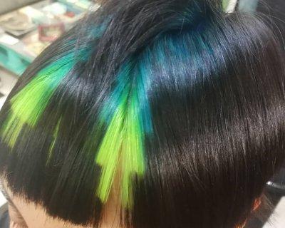 La nuova tendenza per l'hairstyle? Il Pixelated Hair