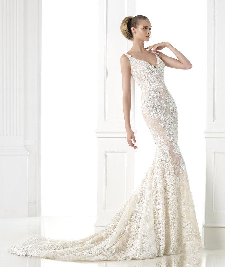 Favoloso Gli abiti da sposa in pizzo per farsi ispirare in questo 2015 WF28