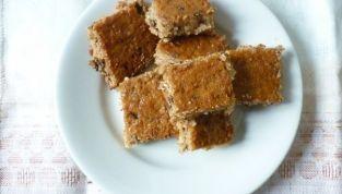 Torta di riso con cioccolato fondente e mandorle