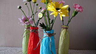 Vasi per fiori di Pasqua