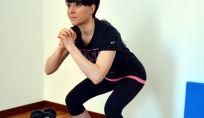 Squat per allenare retto del femore, il bicipite femorale e il gran gluteo