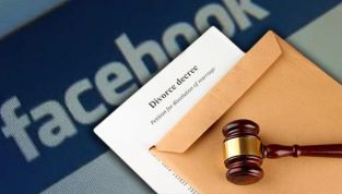 Divorzio via facebook quando il coniuge è irreperibile
