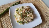 Ricetta del risotto asparagi e gamberetti
