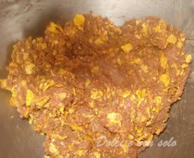 Dolcetti cornflakes e cocco