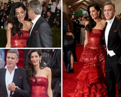 George e Amal, splendidi al loro primo gala da Clooneys
