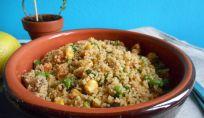 Insalata di cous cous, un piatto fresco e leggero per l'estate