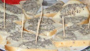 Tartine al Parmigiano e Tartufo