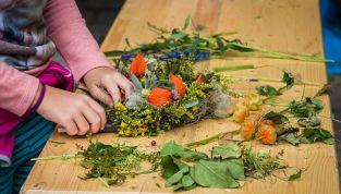 Addobbi floreali in autunno per il matrimonio