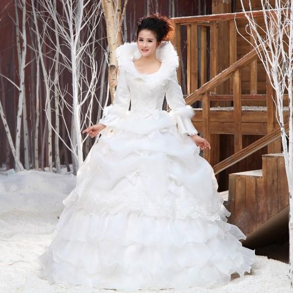 Matrimonio Natalizio Abito : Consigli per la scelta dell abito da sposa in inverno