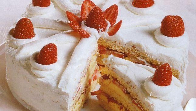 Torta Fragolina