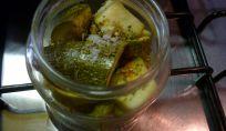 Zucchine in Vaso