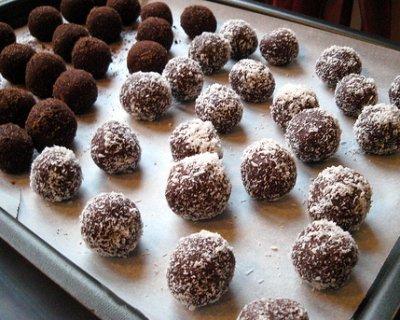 Palle di cioccolata