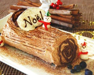 Tronchetto Di Natale Buche Noel.Buche De Noel