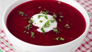 Zuppa di Barbabietole Rosse