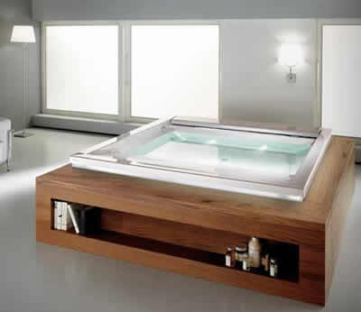 Vasche d abagno oversize la nuova tendenza nell 39 arredamento - Vasche da bagno sovrapposte prezzi ...