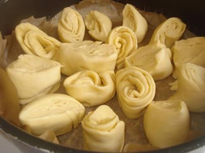 Preprazione pane girasole