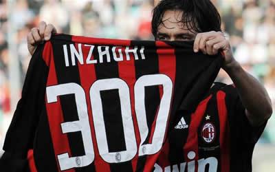 Pippo Inzaghi 300 gol