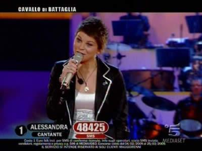 Alessandra Amoroso vincitrice di Amici