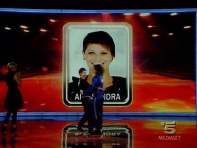 Alessandra vince la sfida contro Valerio