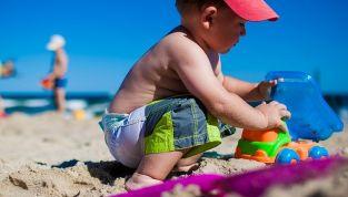 Andare al mare con i bambini senza stressarsi