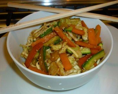 Noodles con verdure, ricetta etnica velocissima