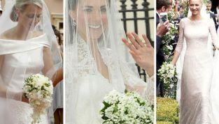 Beatrice Borromeo sceglie il mughetto per il bouquet. Come Charlene e Kate