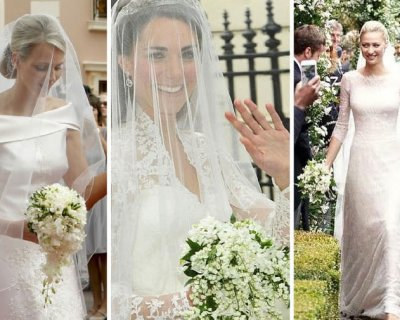 Bouquet Sposa Principessa Kate.Bouquet Beatrice Borromeo