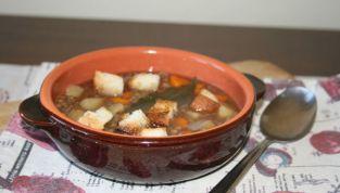 Zuppa di lenticchie per i primi freddi autunnali