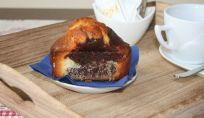 Mini plumcake bianchi e neri, per una merenda sana e genuina