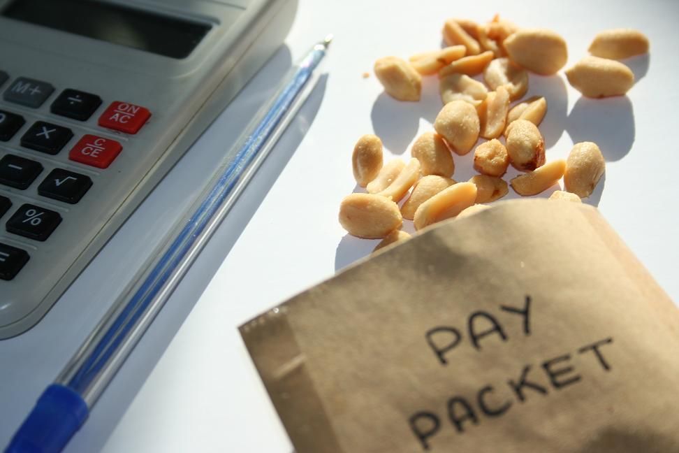 Lavoro precario salario basso