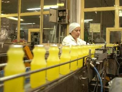 Fabbrica produttrice di bevande alla frutta