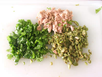 Ingredienti tritati