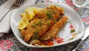 Filetti di pesce persico alla menta