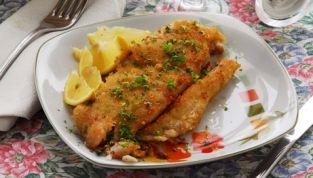 Pesce persico alla milanese