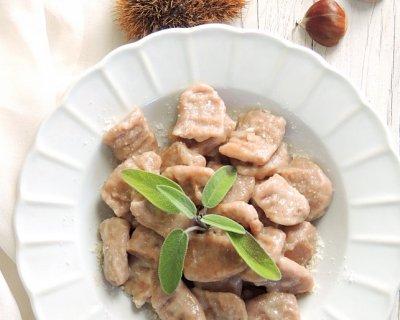 Gnocchi di castagne, un insolito piatto autunnale