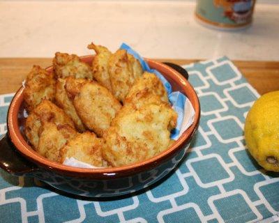 Frittelle di cavolfiore, piccoli scrigni di dolcezza