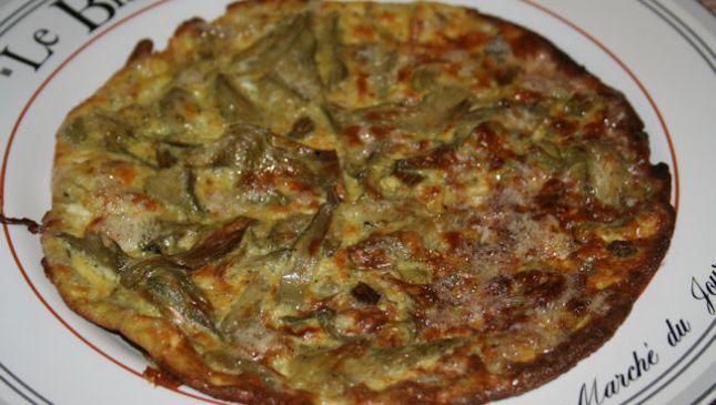 Frittata di carciofi, i sapori rustici della cucina italiana