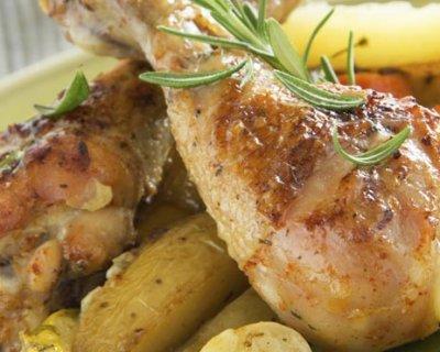Pollo in casseruola