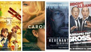 Film in uscita al cinema per gennaio 2016