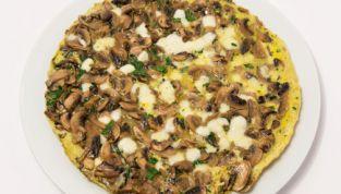 Frittata di zucchine e champignon