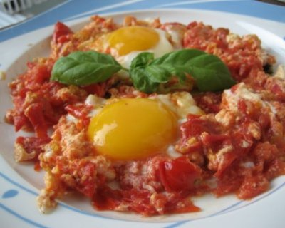 Ricetta Uova Con Pomodoro.Uova Al Pomodoro