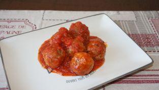 Polpette al sugo, un delizioso secondo piatto della tradizione italiana