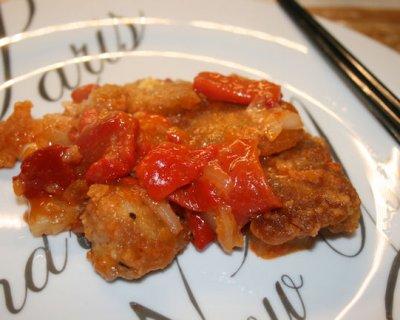 Maiale con ananas e peperoni un piatto agrodolce cinese for Piatto tipico cinese