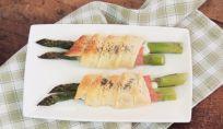 Asparagi e prosciutto in crosta