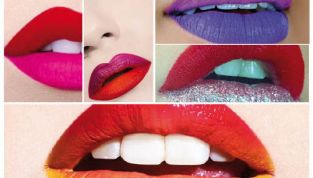 Labbra bicolore: sarà moda?