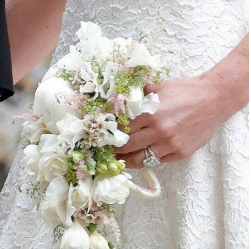 Matrimonio In Comune Costo : Il bouquet da sposa di pippa middleton